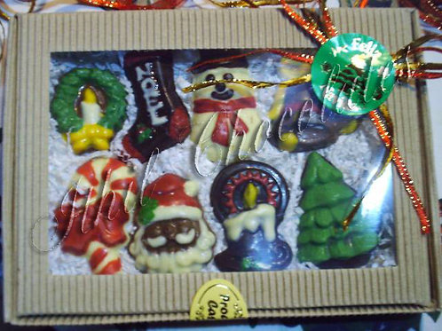 Cajita Chocolates Navidad