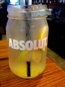 Citrus Mason Jar Mule