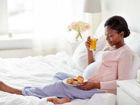Distanciamento social e o Comer emocional na Gravidez
