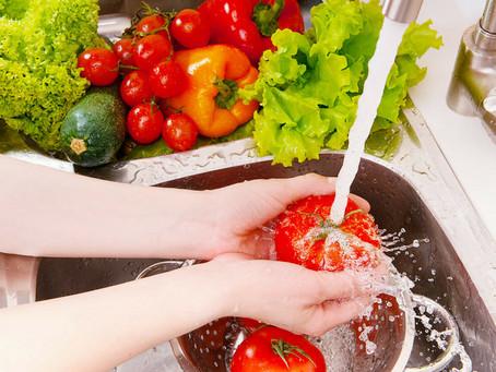 Covid-19: Higienização e conservação de alimentos