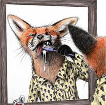 Fox Teeth, The Caterpillar Magazine Spring 2020 & 2nd Place 2019 Brightness Magazine Illustration Awards: Books catagory