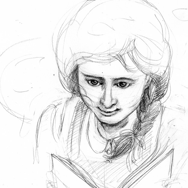 Emily of New Moon sketch