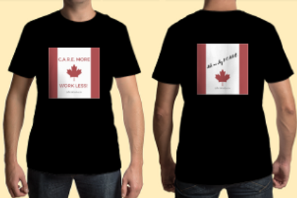 C.A.R.E. T-Shirt: Proud Canadian Investor