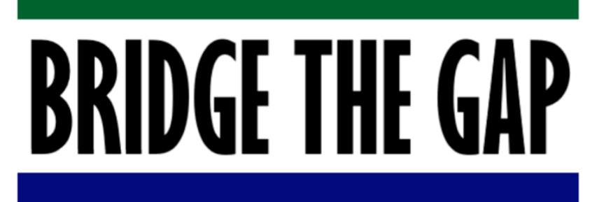 Bridge the Gap Sticker (2)