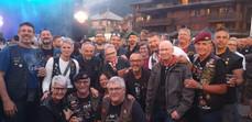 Avec Chapter Orval Belgique à Morzine