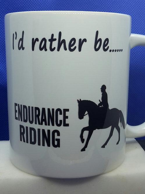 I'd rather be - endurance