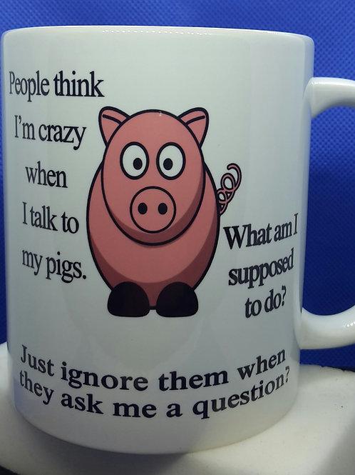 Talk to my pigs