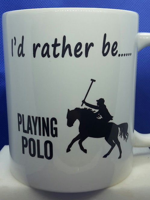 I'd rather be - polo