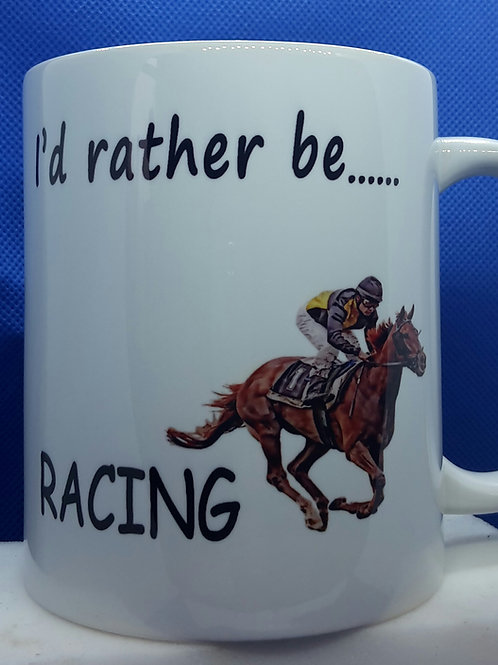 I'd rather be - racing