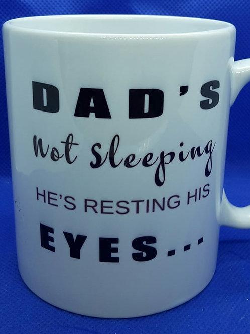 Dad not sleeping