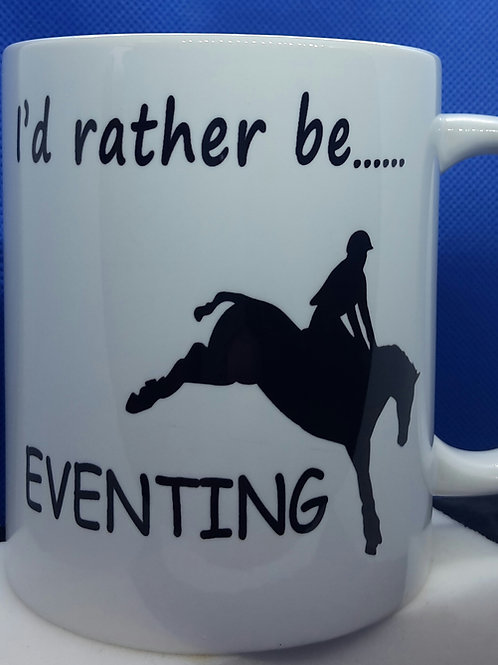 I'd rather be - eventing