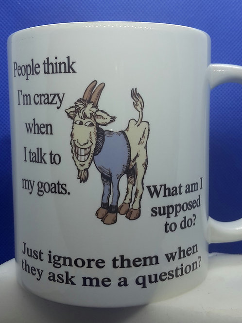 Talk to my goats