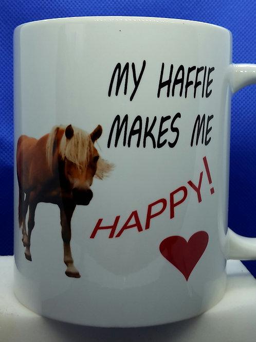 Haffie happy