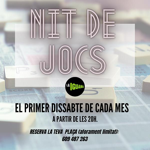 NIT DE JOCS