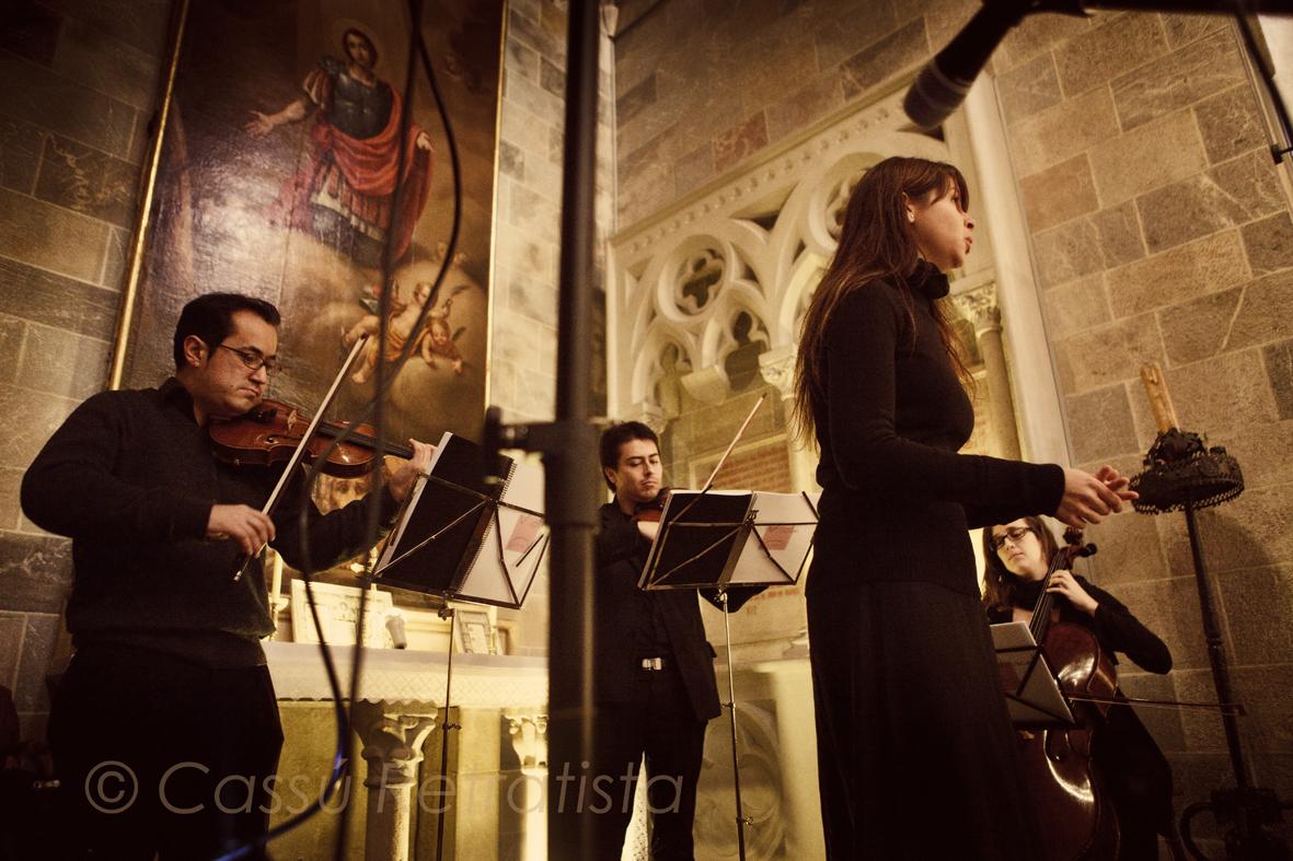 Trio de corda amb soprano