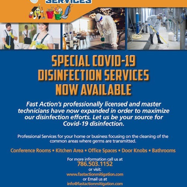 Covid-19 Disinfection