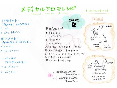 アロマレシピ パート2