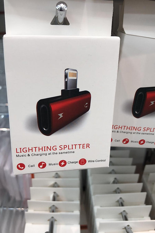 Lightning splitter