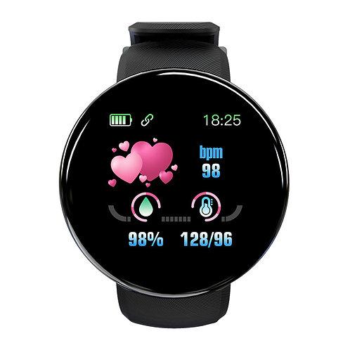Smart watch D18 el mejor reloj inteligente IP67 impermeable