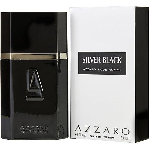Silver Black by Azzaro 3.4 oz Eau De Toilette Spray for men