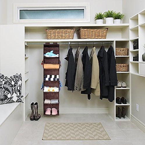 Organizador de ropa multiuso 6 estantes plegables