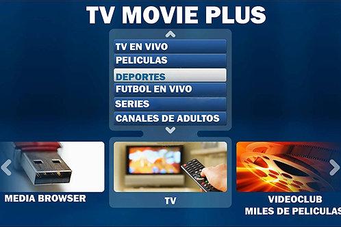 Tv Movie Plus HD Canales de Todo el mundo por Internet