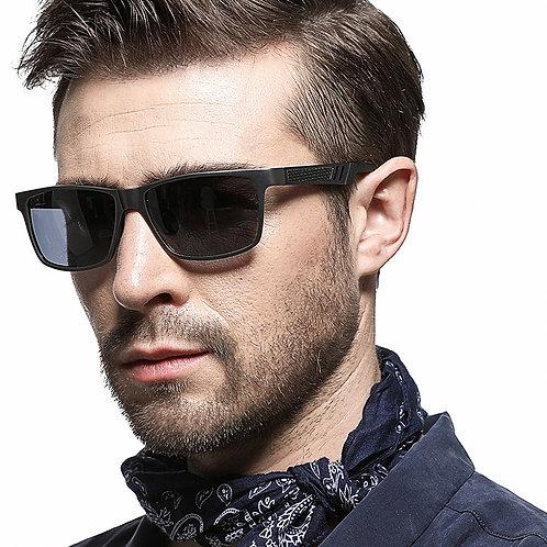 Gafas de sol casual, conducir UV400 polarizadas HBK para hombre