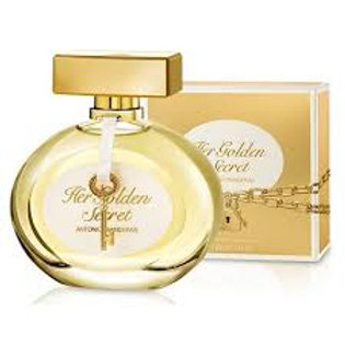 Antonio Banderas Her Golden Secret 80 ml para mujer