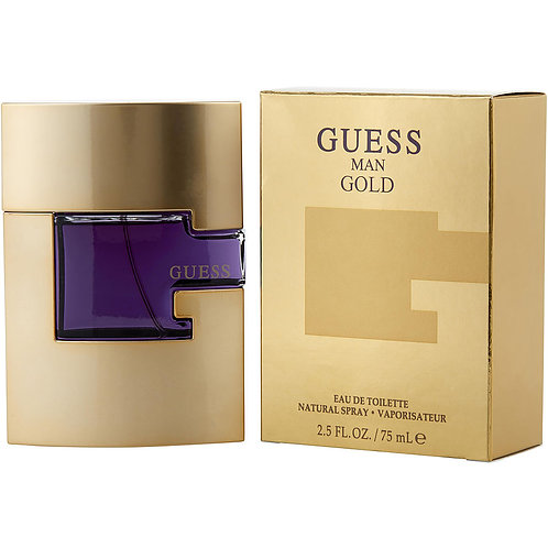 Guess Gold Cologne By  Guess  For Men 75 ML