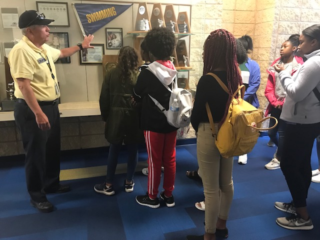 Naval Academy tour group