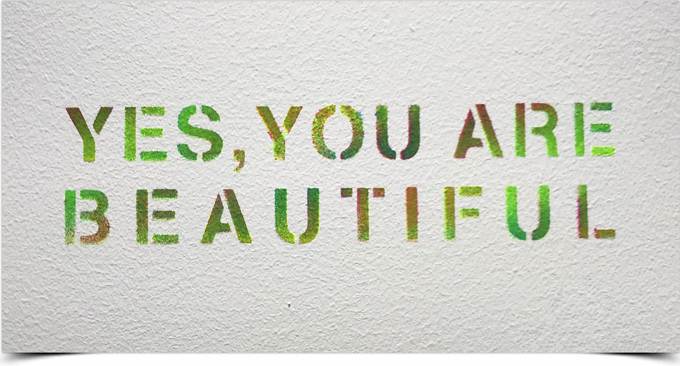 Yes, You are Beautifull