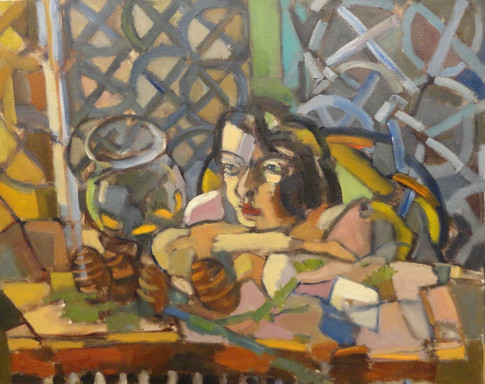 Matisse's Woman with Fish Bowl - Tom Kelly Interpretation