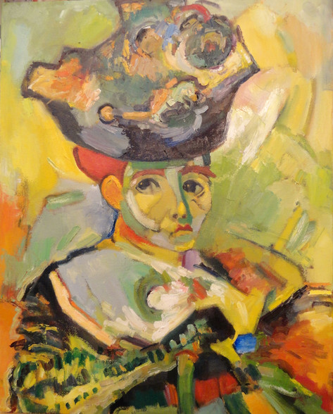 Copy of Matisse's Woman with Hat - Tom Kelly Interpretation