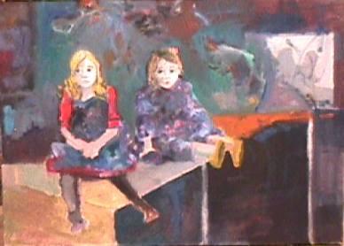Meghan and Lauren