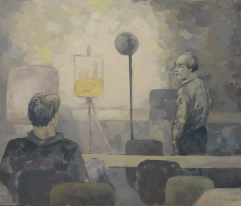 George McCullough's Painting Clas