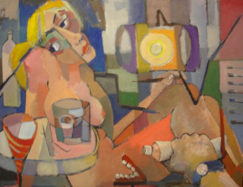 Nude with Dentist