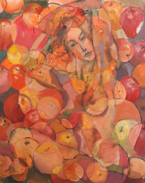 Nude with Apples