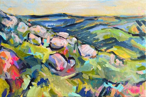 Golden Crags (50 x 75cm)