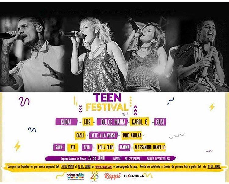 Kudai Teen Festival Colombia 2017