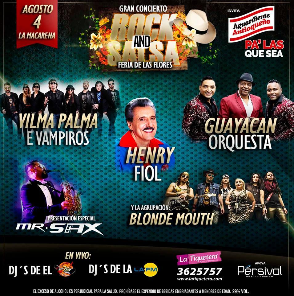 Rock & Salsa Medellin 2018