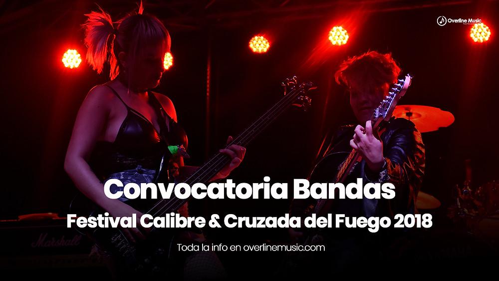 convocatoria festival calibre 2018