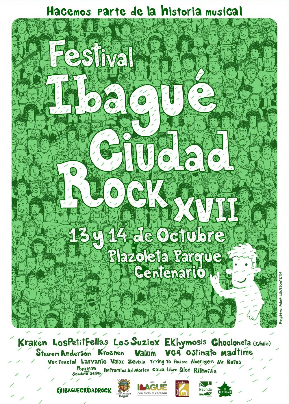 Ibagué ciudad rock 2018