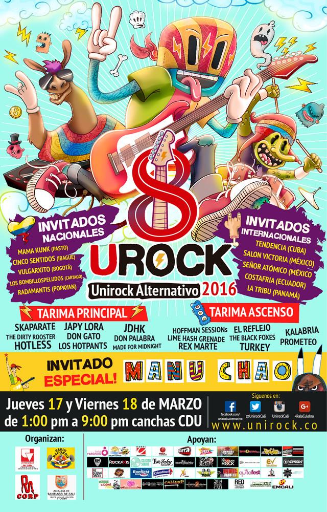 Overline Music - Unirock 2016