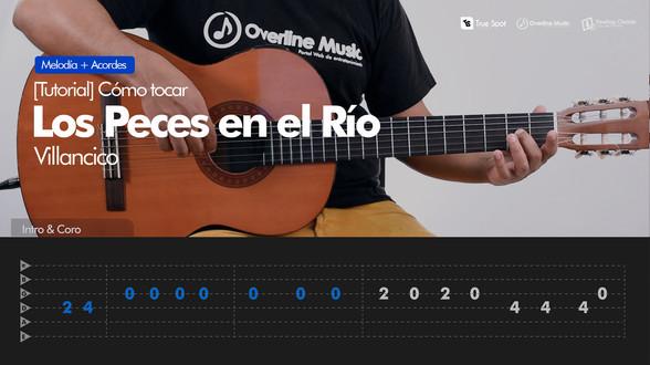 Los Peces en el Río - Villancico | Tutorial Guitarra + TAB