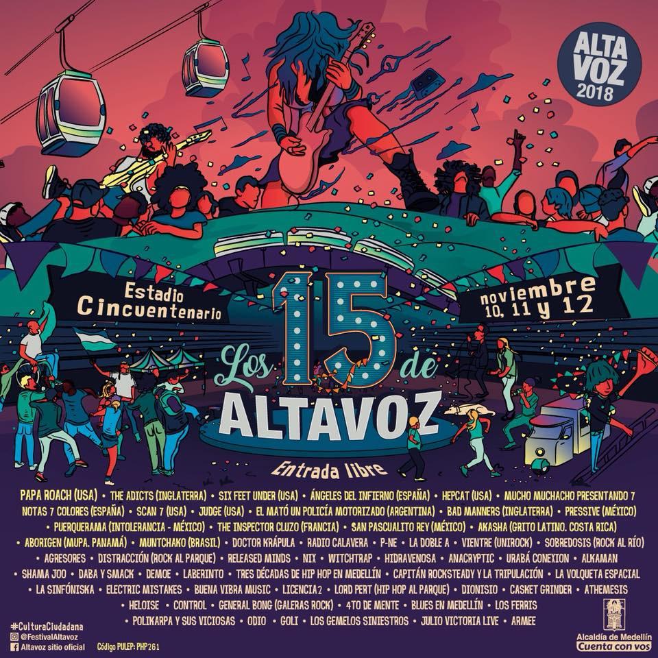 Festival Unirock cali 2018