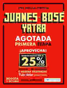 Boletas Juanes bogotá 2018