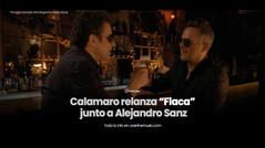 Calamaro presenta nueva versión de Flaca junto a Alejandro Sanz y anuncia su nuevo álbum