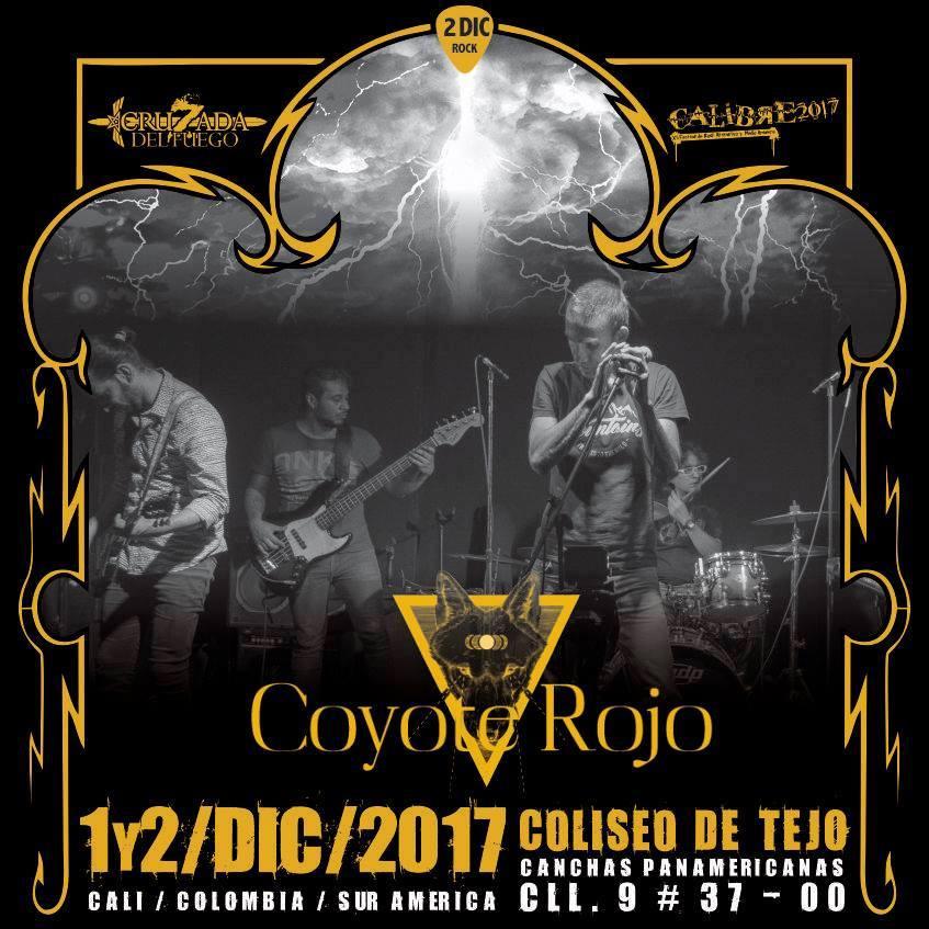 Coyote Rojo - Festival Calibre 2017