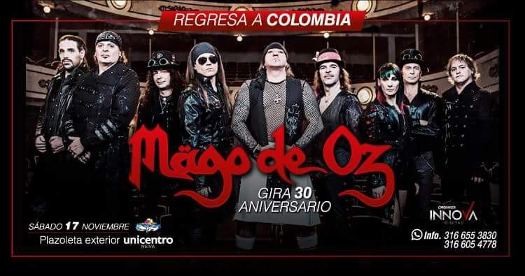 Mago de Oz Colombia 2018