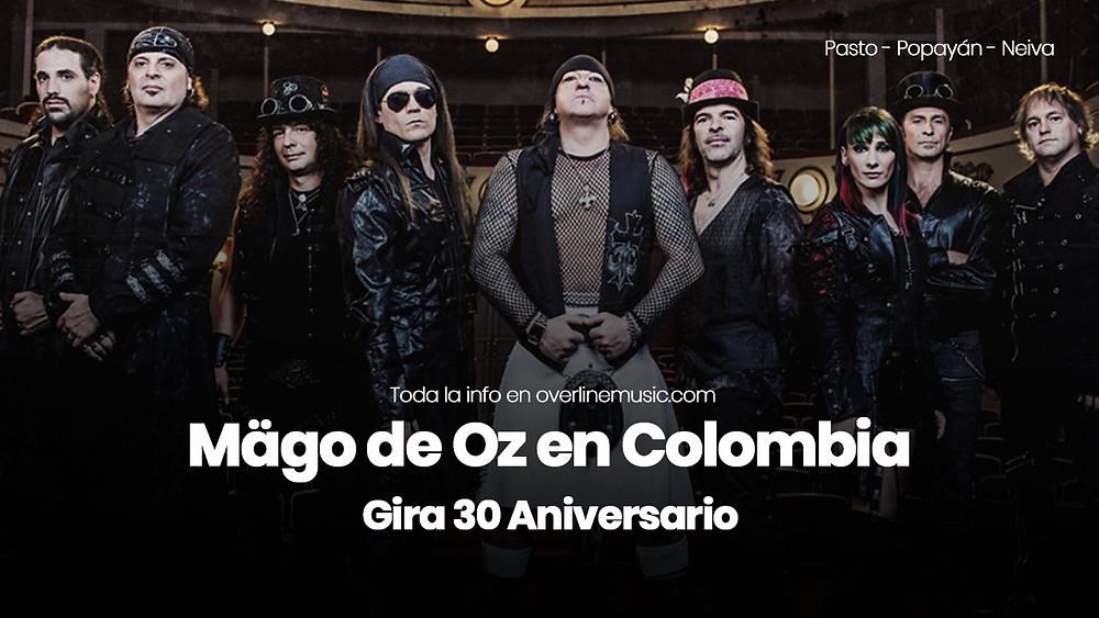 Zoé en Colombia 2018